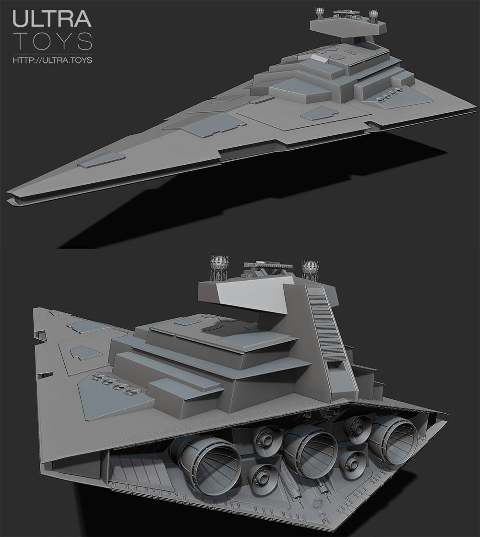 Imperial start destroyer avenger 1 1600 3d printing for Imperial printing